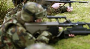 The missing Defence Forces soldier was on a course as part of his training for deployment