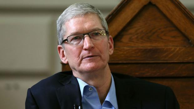 Tim Cook said the tax announcement was 'maddening'