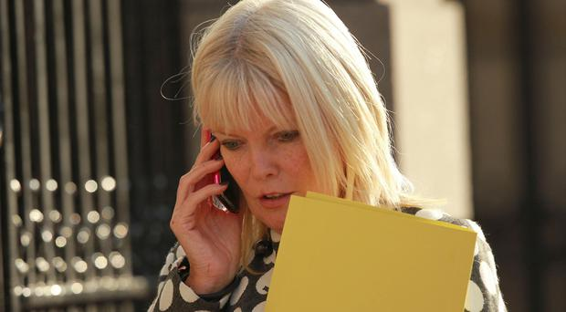 Mary Mitchell O'Connor will hold talks in Brussels