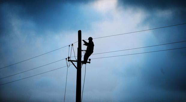 Large power outage in the Dublin 8 area
