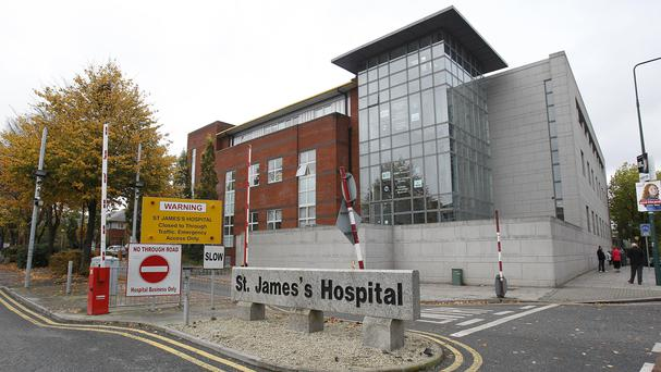 Graham Egan was rushed to St James's Hospital but on arrival he was not breathing