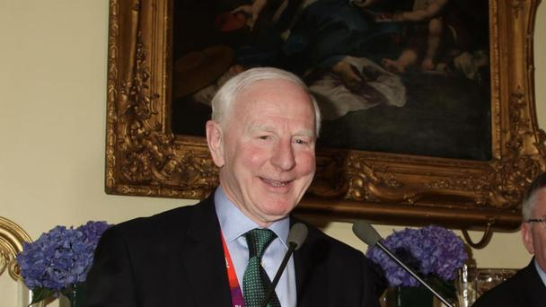Patrick Hickey, the resident of the Olympic Council of Ireland
