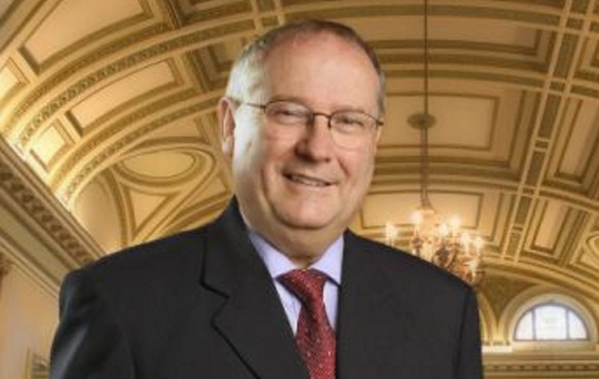 Frank Cushnahan, who was appointed to Nama's advisory committee in 2010