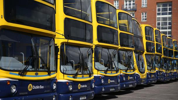 Dublin Bus workers are taking industrial action