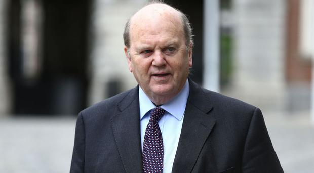 Michael Noonan will make history by securing support from the opposition benches