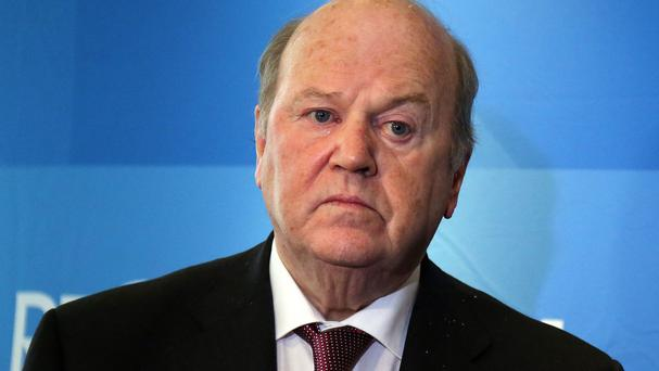 Finance Minister Michael Noonan at RTE Radio Studios to answer the public's questions on Budget 2017 on Today with Sean O'Rourke.