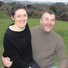 Anthony Foley with his wife Olive
