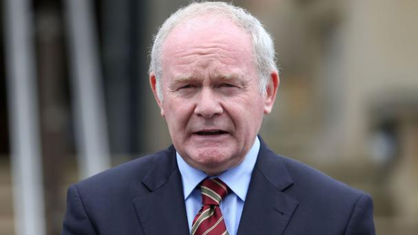 Martin McGuinness urged Enda Kenny to fight for people both north and south of the border