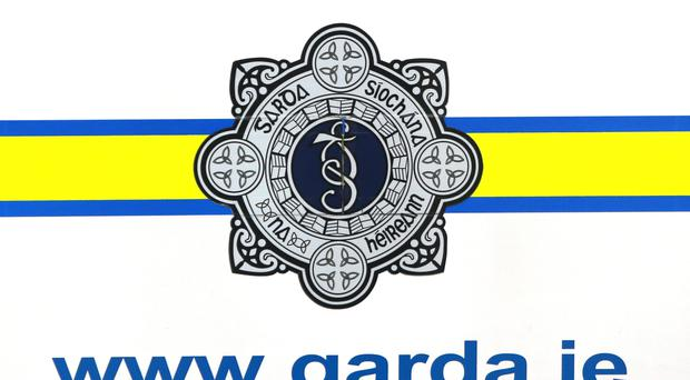 Gardai were investigating at the scene