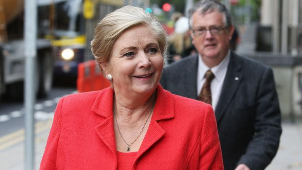 Tanaiste Frances Fitzgerald made a last-ditch plea for gardai to lift the strike threat