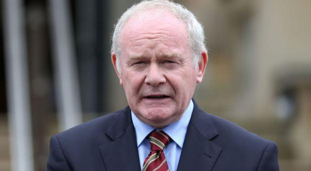 Martin McGuinness, Deputy First Minister of Northern Ireland, declined to rule out the party's MPs attending Westminster to vote against Section 50