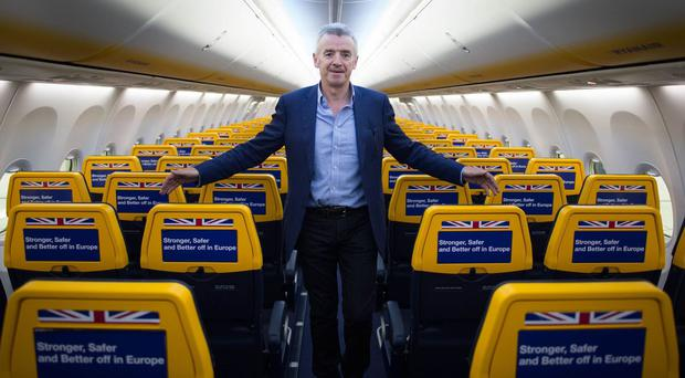 Ryanair raised its long-term traffic forecasts by more than 10 per cent