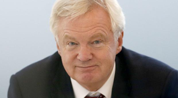 David Davis told MPs he believes there will be no change to what is enshrined in law in the Ireland Act 1949