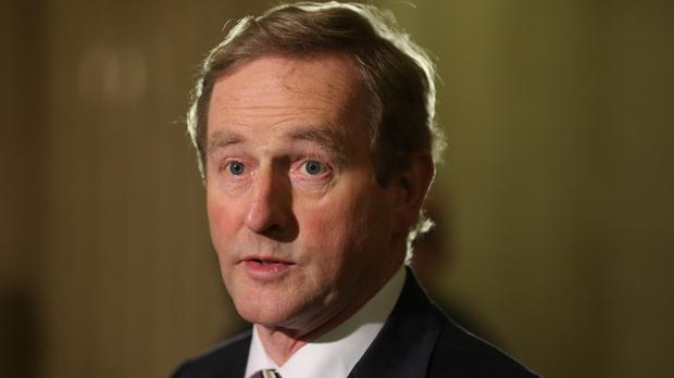 Enda Kenny spoke to US President-elect Donald Trump by telephone for 10 minutes on Wednesday night