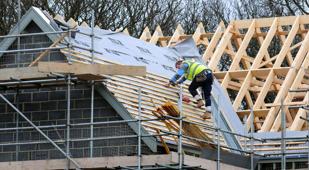 Activity on housing projects also rose at a sharp and accelerated pace during October