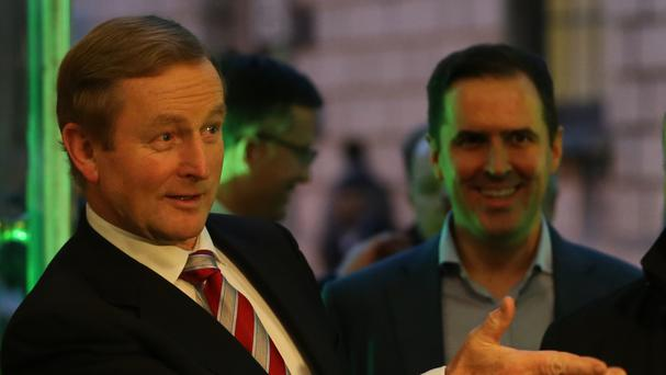 Enda Kenny and Martin Shanahan have both welcomed the announcement