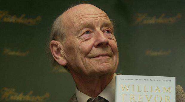 Author William Trevor