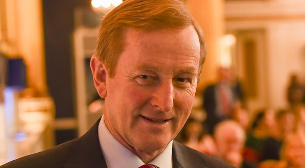 Taoiseach Enda Kenny made the remarks at a private Fine Gael fundraiser in Dublin