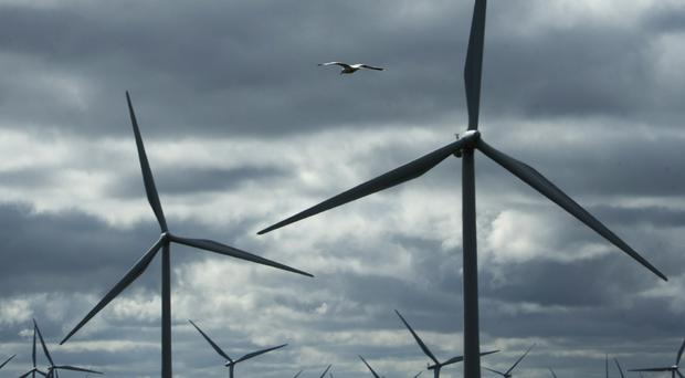 The accident happened on a wind farm site near Ballyfarnon