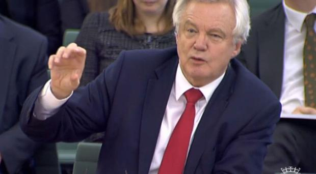 David Davis told MPs he did not see such a move as the solution