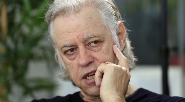 Bob Geldof said the EU is not working for its citizens