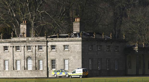 Russborough House, seen here after a fire in 2010, was visited by more than 100,000 people this year