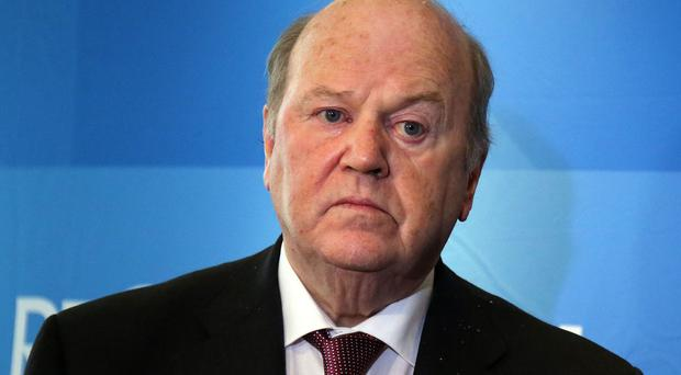 Finance Minister Michael Noonan, who was Justice Minister until 1986