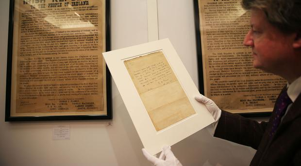 Patrick Pearse's final order of surrender