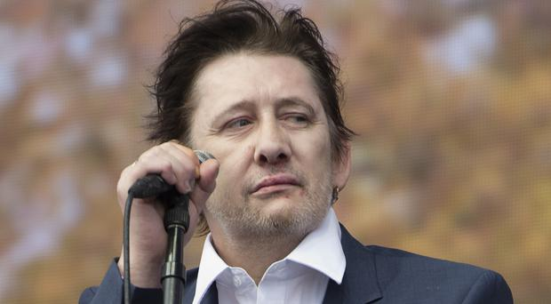 Therese MacGowan, the 87-year-old mother of The Pogues' lead singer Shane, pictured, was pronounced dead at the scene near her home in Silvermines