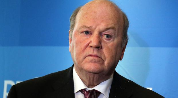 Finance Minister Michael Noonan was urged to house homeless people in state-owned buildings