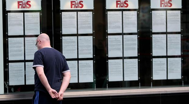 Official figures from the Central Statistics Office revealed that 157,700 people were out of work in December