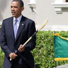 US President Barack Obama on a previous visit to Ireland