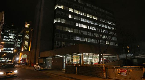 Apollo House, where the homeless campaign group, Home Sweet Home, continues its occupation of the empty office block in Dublin's Tara Street