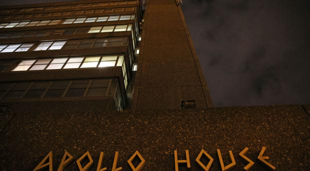 The Home Sweet Home group had been ordered by the courts to leave Apollo House by midday on Wednesday