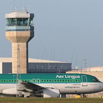 Aer Lingus said two of its employees have been arrested.