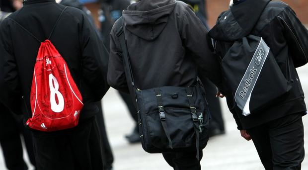 The study found 38% of parents are very concerned about the weight of their child's school bag