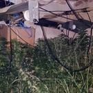 A cannabis farm discovered in Kilknockan, Adare, Co Limerick, this week (Garda/PA Wire)