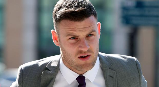 Footballer Anthony Stokes pleaded guilty to the assault of an Elvis impersonator