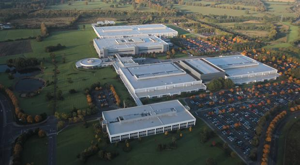 Hewlett Packard's campus in Leixlip, Co Kildare