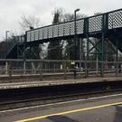 The woman was struck by a train at Barnt Green station