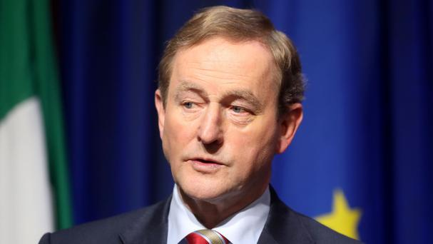 Enda Kenny said growing companies like Indeed can rest assured that Ireland will remain in the EU and the single market