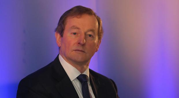 Enda Kenny said he offered a full apology to Maurice McCabe and his family for the treatment that was meted out to them