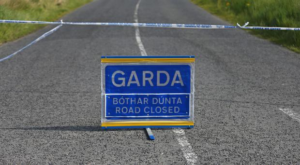 A man died at the scene and forensic collision investigations were to take place on the road, Garda said