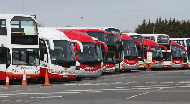 Industrial action in a row over cost-cutting at Bus Eireann had threatened to cripple the nationwide network from Monday