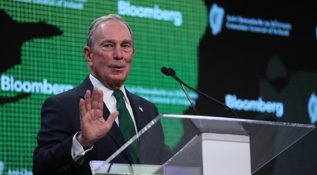 Former New York mayor Michael Bloomberg welcomed Enda Kenny's remarks