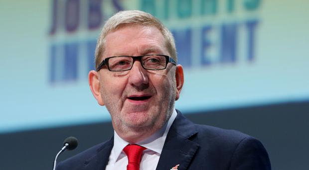 Len McCluskey, general secretary of Unite, warned transport chiefs it has the 'financial might' to sustain the striking workers
