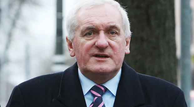 Bertie Ahern said the last thing he wanted out of Brexit was a border poll
