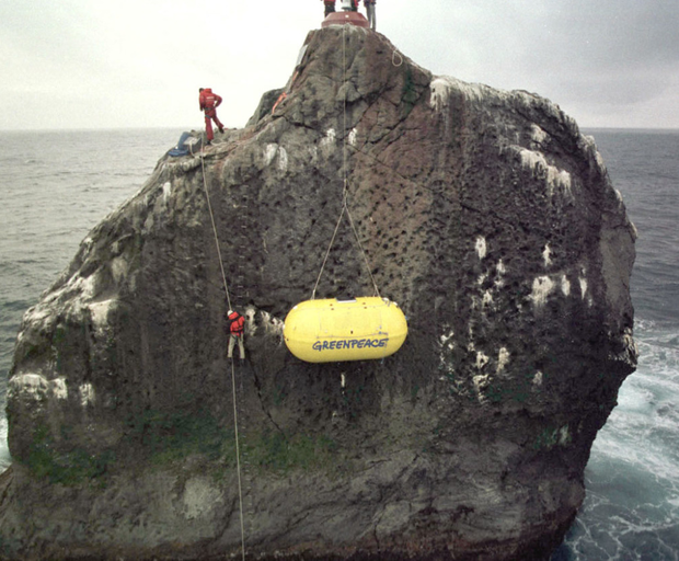 Rockall is under 300 miles from Scotland and Ireland's western extremities