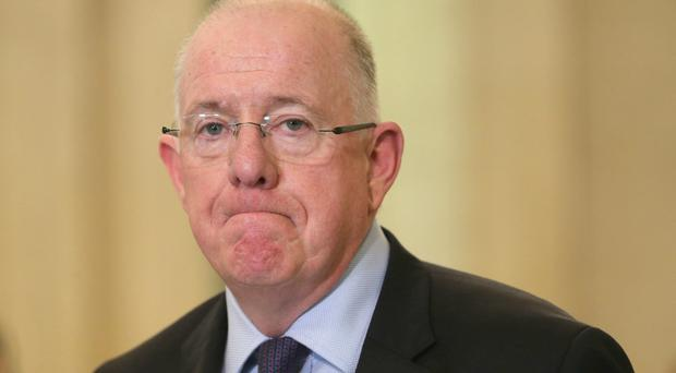Charlie Flanagan said Dublin remained committed to 'ensuring the best possible outcome for Ireland in the upcoming Brexit negotiations'
