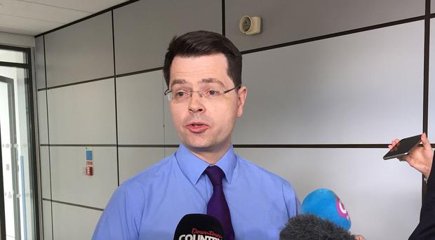 James Brokenshire said the UK and Irish governments were committed to working together to deliver a shared ceremony of commemoration